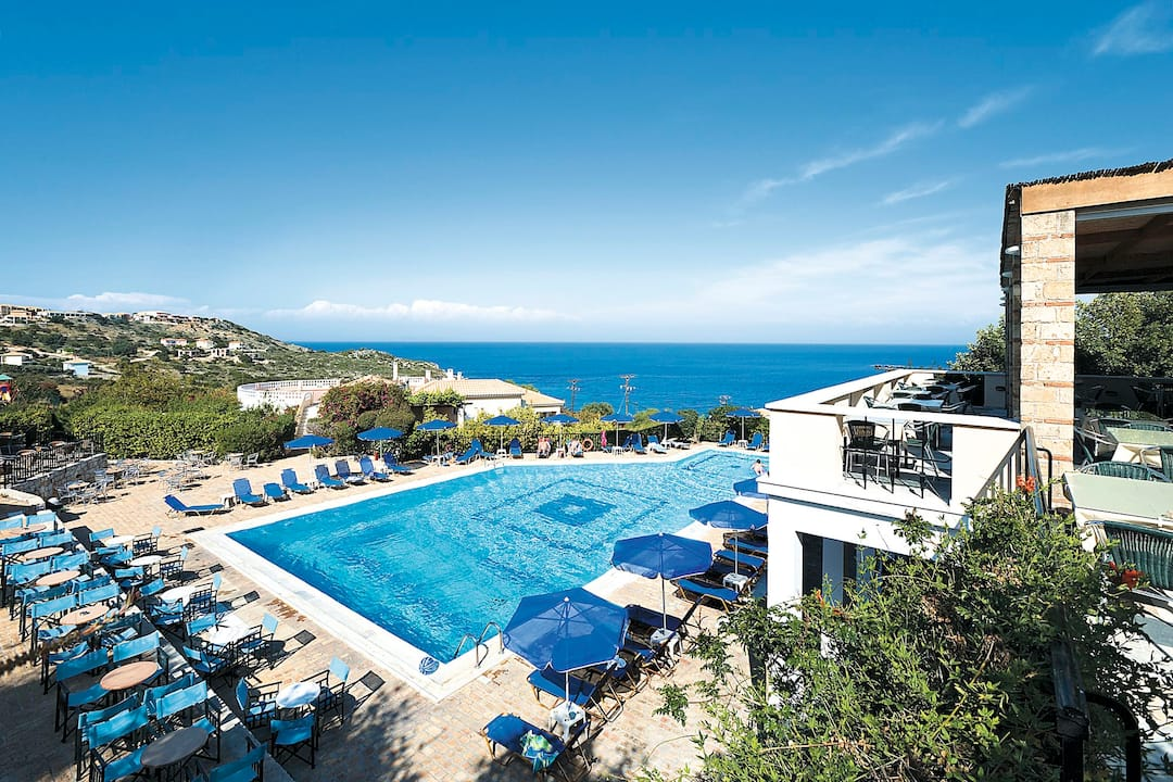 Holiday to San Giorgio Hotel & Studios in SKALA (GREECE) for 3 nights (AI) departing from birmingham on 09 May