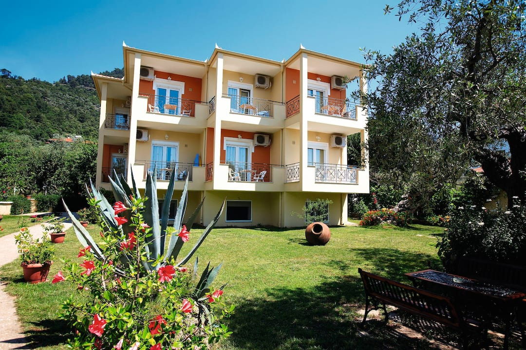 Holiday to Nostos Studios in GOLDEN BEACH (GREECE) for 4 nights (SC) departing from gatwick on 22 May