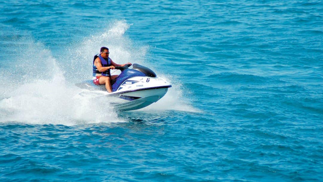 Try Watersports On Praia De Faro Beach
