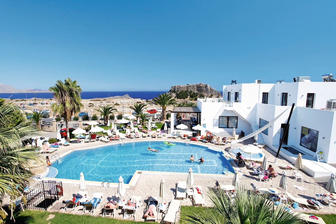 Holiday to Lindos View Studios in LINDOS (GREECE) for 3 nights (SC) departing from luton on 06 May