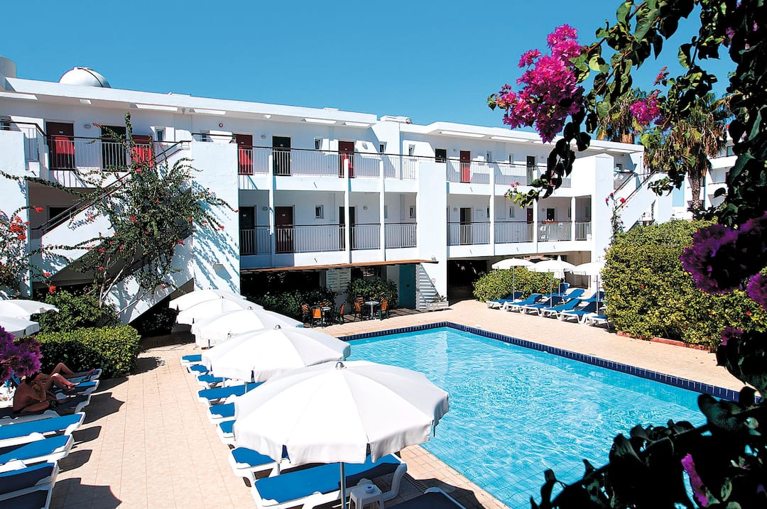 Holiday to Nissi Park Hotel in NISSI BEACH (CYPRUS) for 3 nights (BB) departing from manchester on 16 Jun