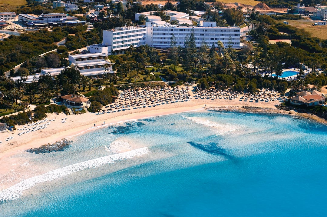 Holiday to Nissi Beach Hotel in NISSI BEACH (CYPRUS) for 3 nights (HB) departing from manchester on 25 Apr