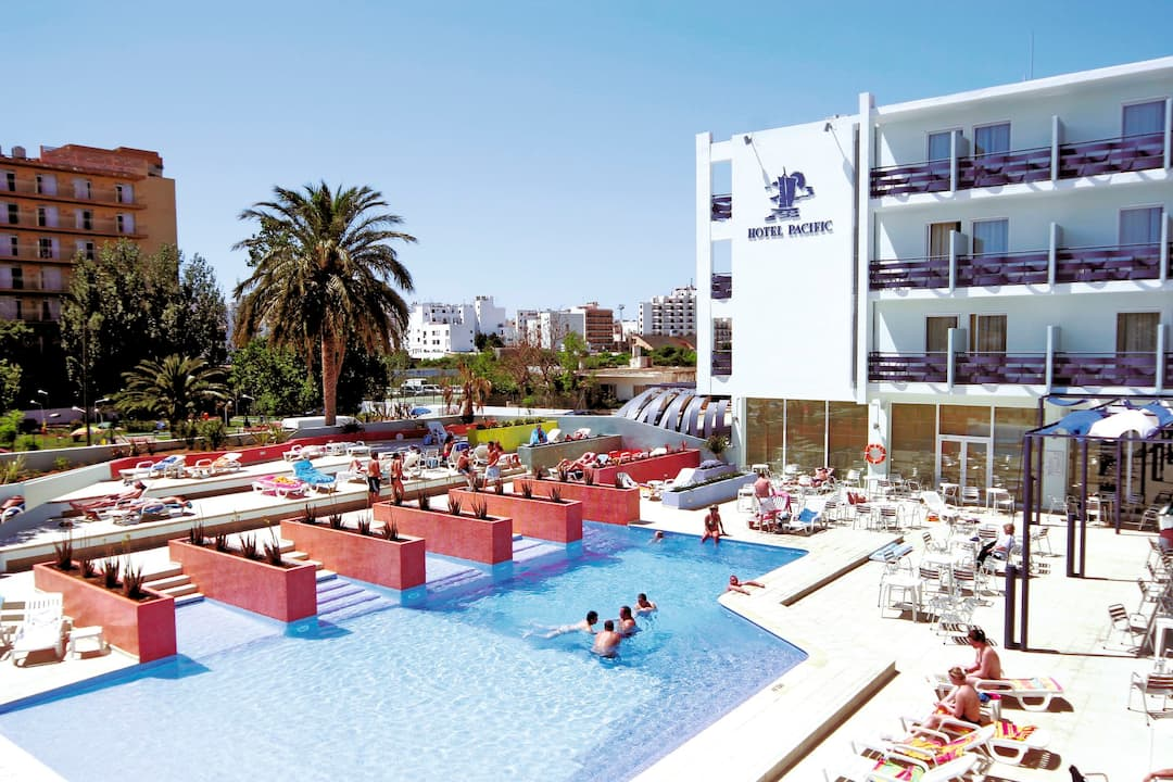 Holiday to Azuline Hotel Pacific in SAN ANTONIO (SPAIN) for 3 nights (BB) departing from glasgow on 22 May
