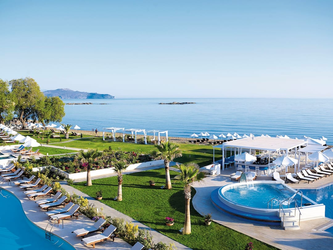 Holiday to Tui Sensimar Atlantica Kalliston Resort & Spa in NEA KYDONIA (GREECE) for 4 nights (HB) departing from gatwick on 02 Aug