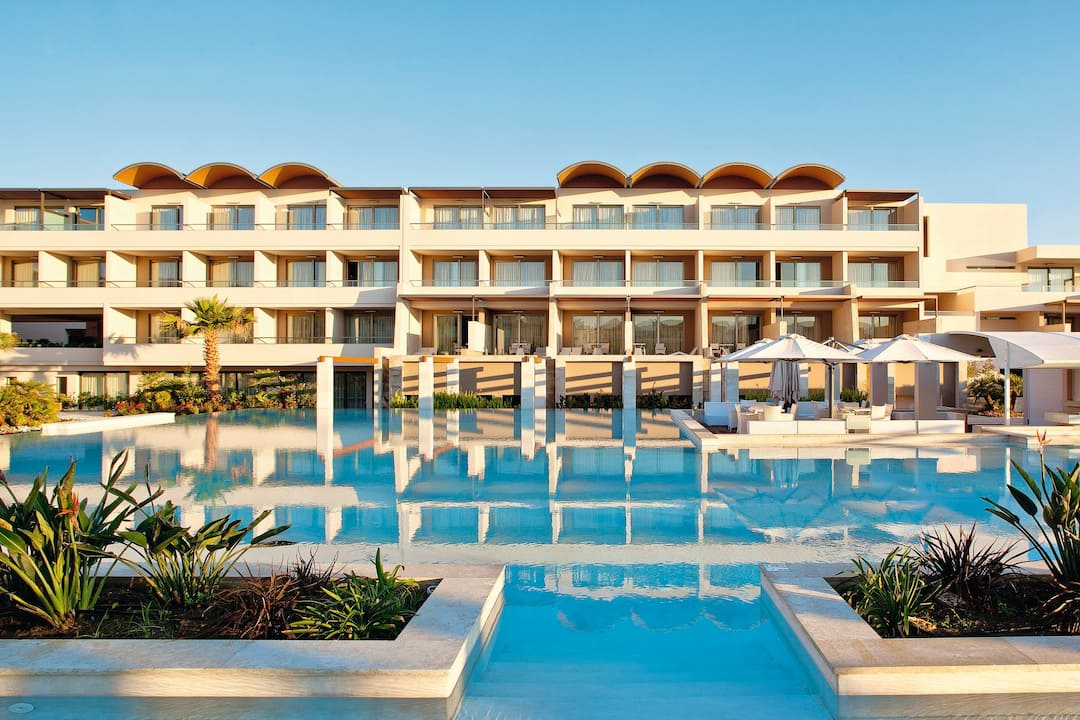 Holiday to Avra Imperial Hotel in KOLYMBARI (GREECE) for 3 nights (HB) departing from birmingham on 05 May
