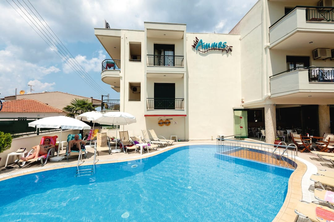 Holiday to Ammos Studios & Apartments in POLICHRONO (GREECE) for 4 nights (SC) departing from gatwick on 03 Oct