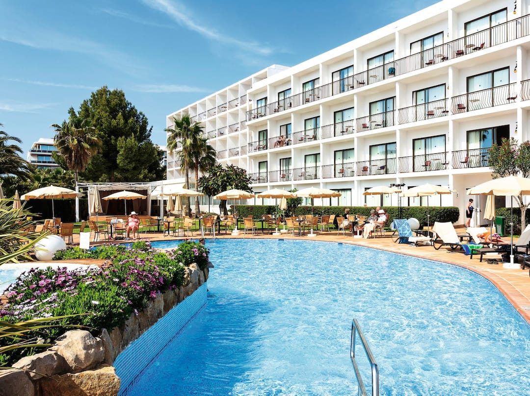 Holiday to Catalonia Ses Estaques in SANTA EULALIA (SPAIN) for 3 nights (HB) departing from birmingham on 13 May