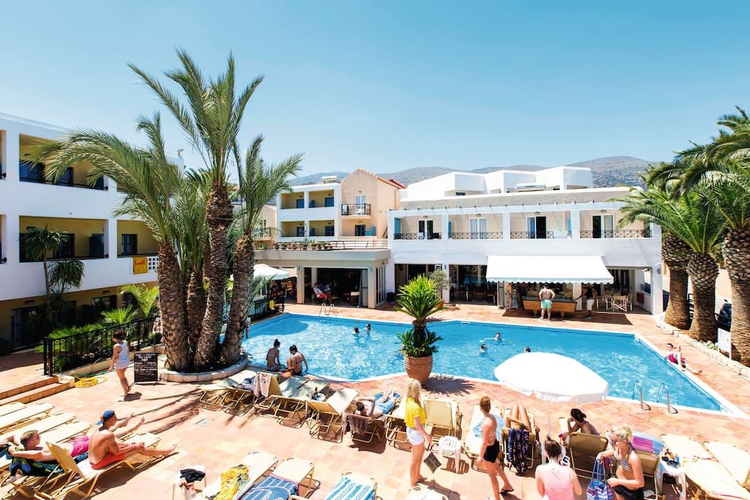 Holiday to Malia Dedalos Hotel in MALIA (GREECE) for 7 nights (BB) departing from manchester on 07 Jun