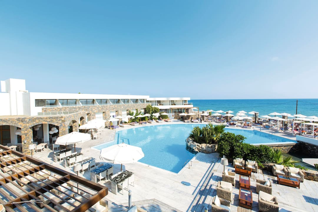 Holiday to The Island Hotel in GOUVES (GREECE) for 4 nights (HB) departing from bristol on 29 Sep