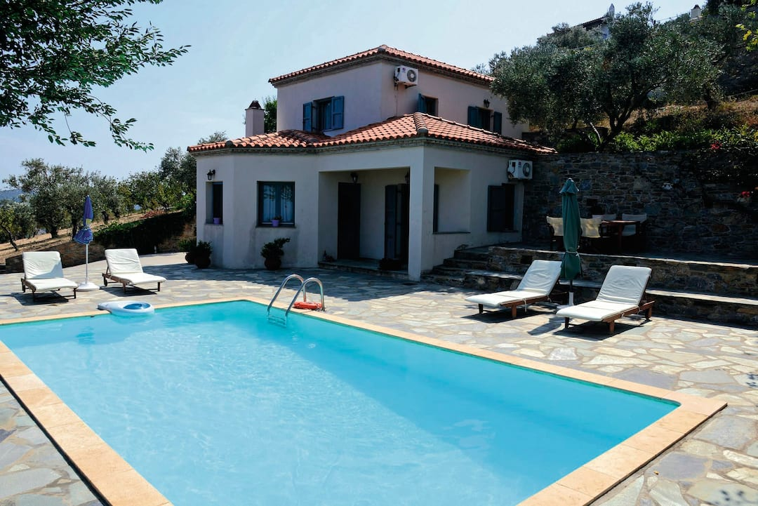 Holiday to Afroditi Villa in SKOPELOS - SKOPELOS TOWN (GREECE) for 7 nights (SC) departing from birmingham on 17 May