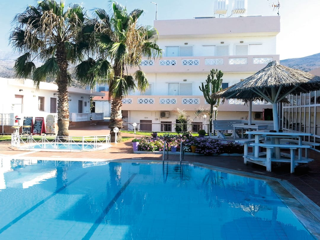 Holiday to Icandy Fanourakis Apartments in MALIA (GREECE) for 7 nights (SC) departing from birmingham on 30 May