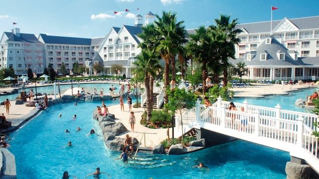 Disney 39 s beach club resort first choice for Pool show in orlando 2016