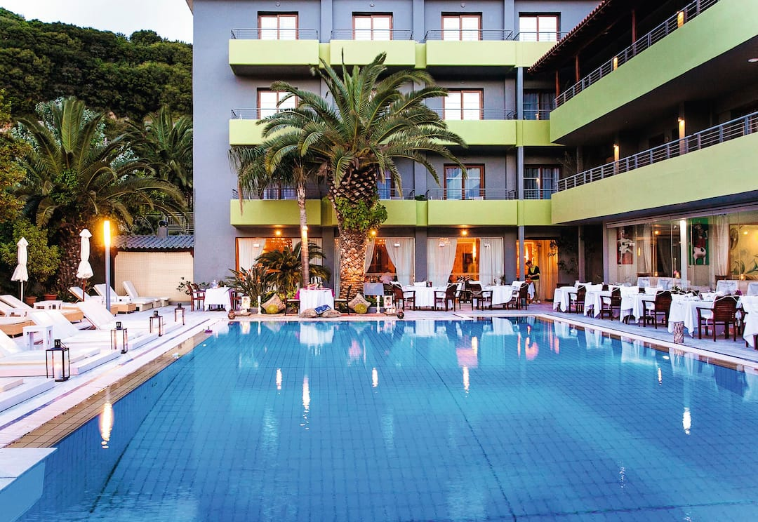 Holiday to La Piscine Art Hotel in SKIATHOS TOWN (GREECE) for 3 nights (BB) departing from birmingham on 02 Jun