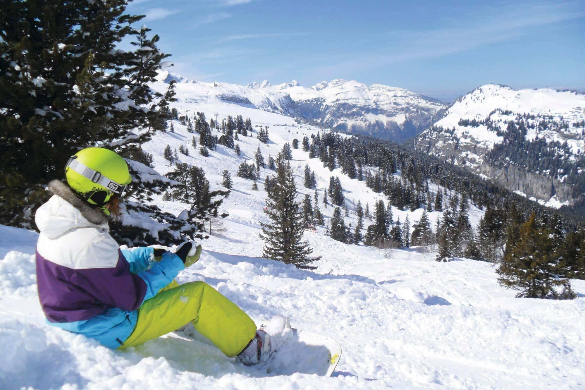 Skiing In Flaine Flaine France Crystal Ski