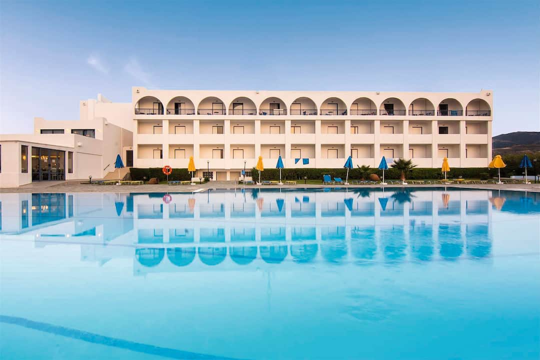 Holiday to The Aeolos Beach Hotel in LAMBI (GREECE) for 3 nights (HB) departing from gatwick on 06 Jun
