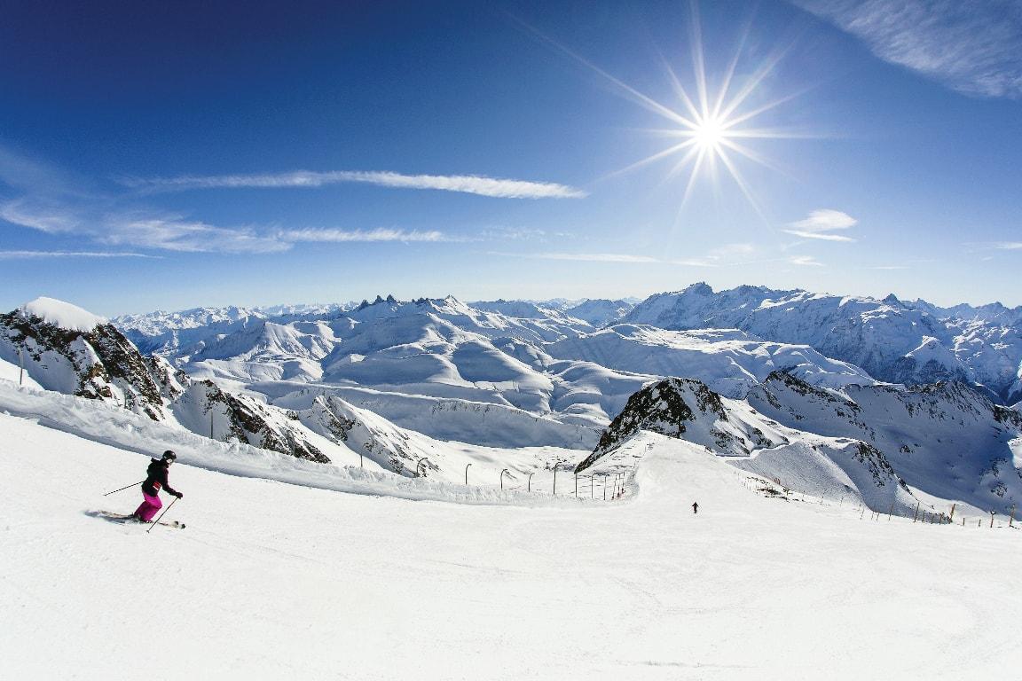 Skier Alpe d'huez