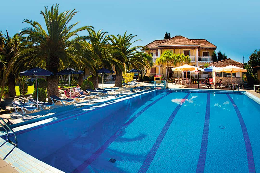 Holiday to Alykes Garden Village in ALYKES (GREECE) for 7 nights (SC) departing from cardiff on 10 May
