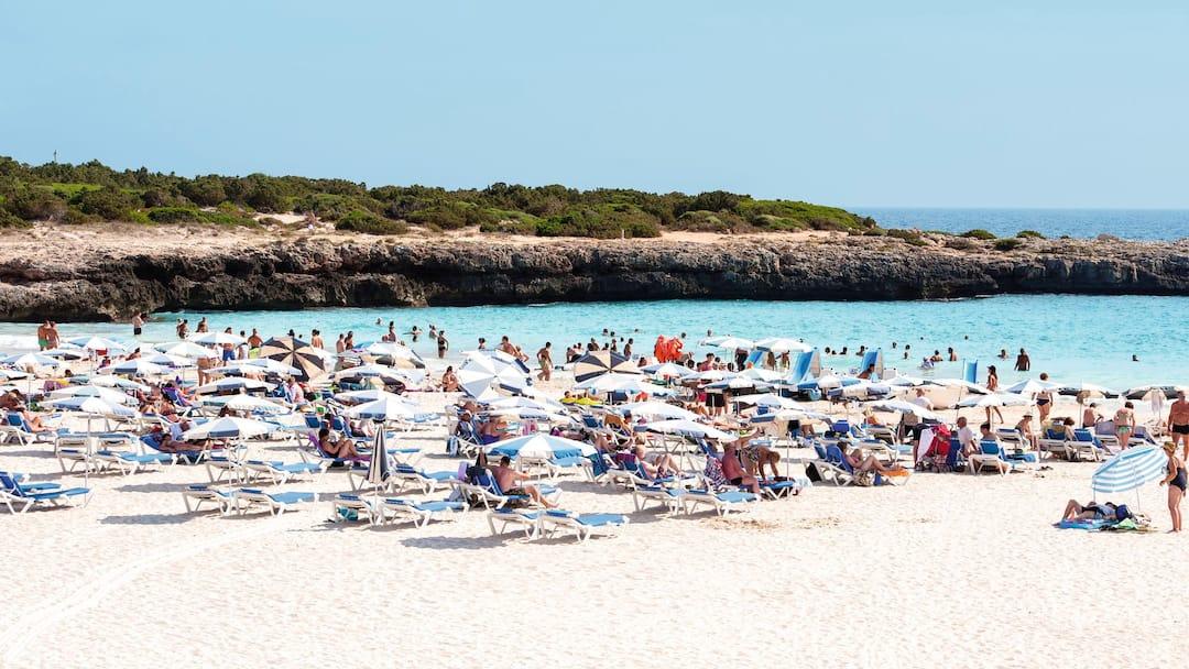 Spend The Day At Calan Bosch Beach