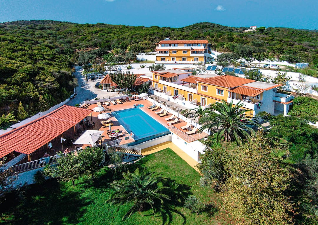 Holiday to Zorbas Studios And Apartments in AGHIA PARASKEVI (GREECE) for 7 nights (SC) departing from birmingham on 07 May