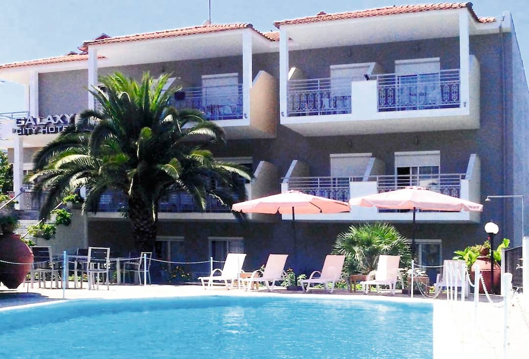 Holiday to Galaxy Hotel in THASSOS TOWN (GREECE) for 4 nights (BB) departing from gatwick on 22 May