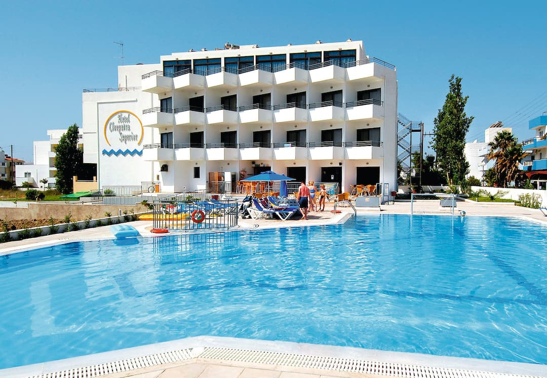 Holiday to Cleopatra Superior in KARDAMENA (GREECE) for 3 nights (BB) departing from gatwick on 06 Jun