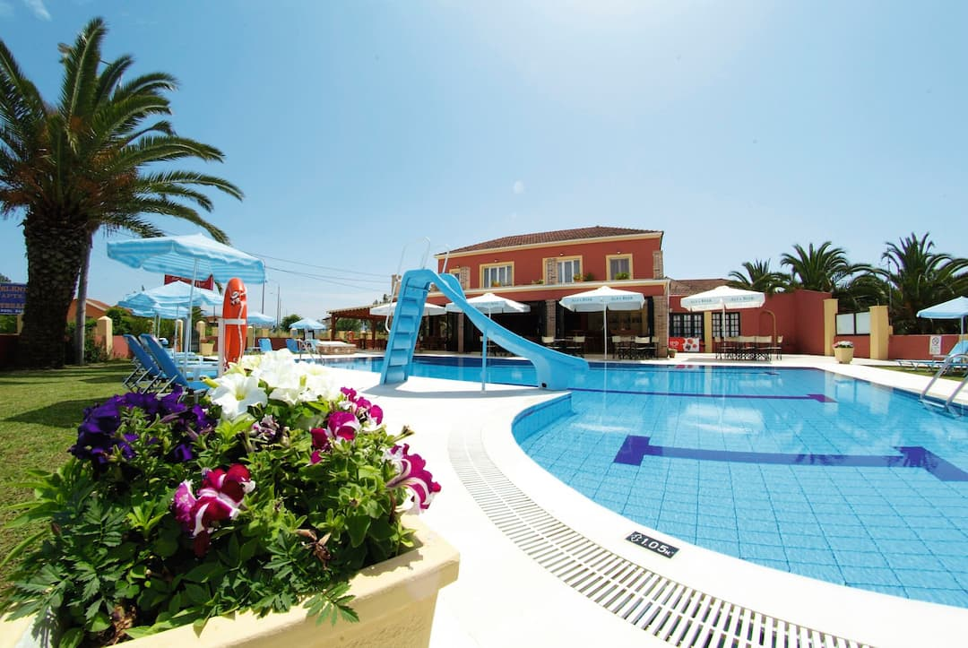 Holiday to Christina Studios  Apartments in SIDARI (GREECE) for 3 nights (SC) departing from east midlands on 14 May