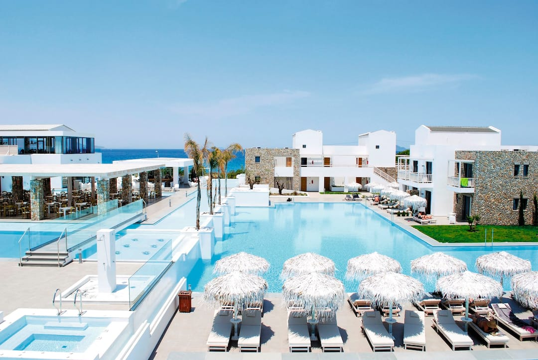Holiday to Diamond Deluxe Hotel & Spa in LAMBI (GREECE) for 3 nights (BB) departing from birmingham on 06 May
