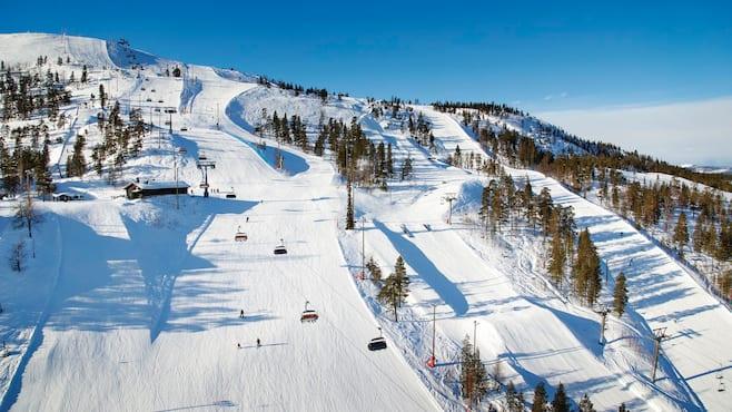 Skiing In Finland Skiing In Lapland Crystal Ski