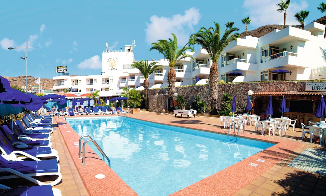 Holiday to Apartamentos Lufesa in PUERTO RICO (SPAIN) for 3 nights (SC) departing from gatwick on 07 Jun
