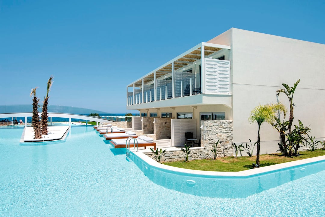 Holiday to Tui Sensimar Insula Alba Resort & Spa in ANALIPSI (GREECE) for 4 nights (HB) departing from bristol on 13 Oct