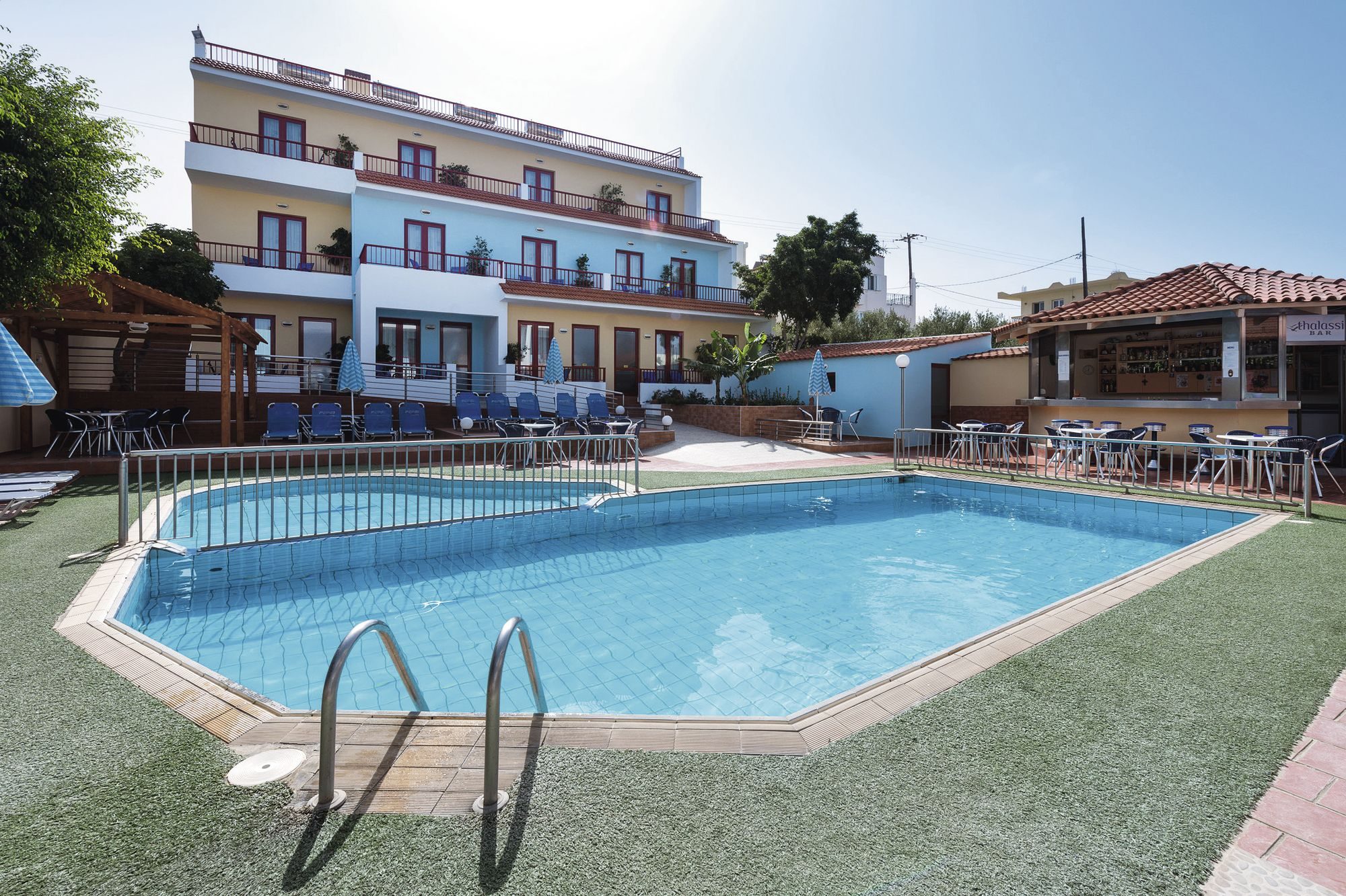Holiday to Thalassi Hotel in SFAKAKI (GREECE) for 4 nights (HB) departing from birmingham on 03 May