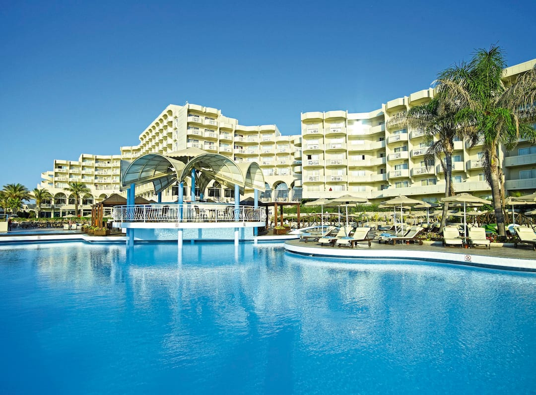 Holiday to Rodos Palladium Hotel in FALIRAKI (GREECE) for 3 nights (HB) departing from gatwick on 09 May