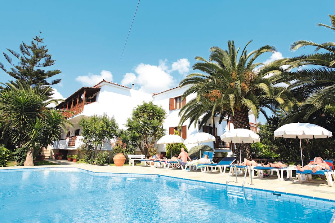 Holiday to Kostas And Mary in SKIATHOS TOWN (GREECE) for 3 nights (BB) departing from birmingham on 05 May