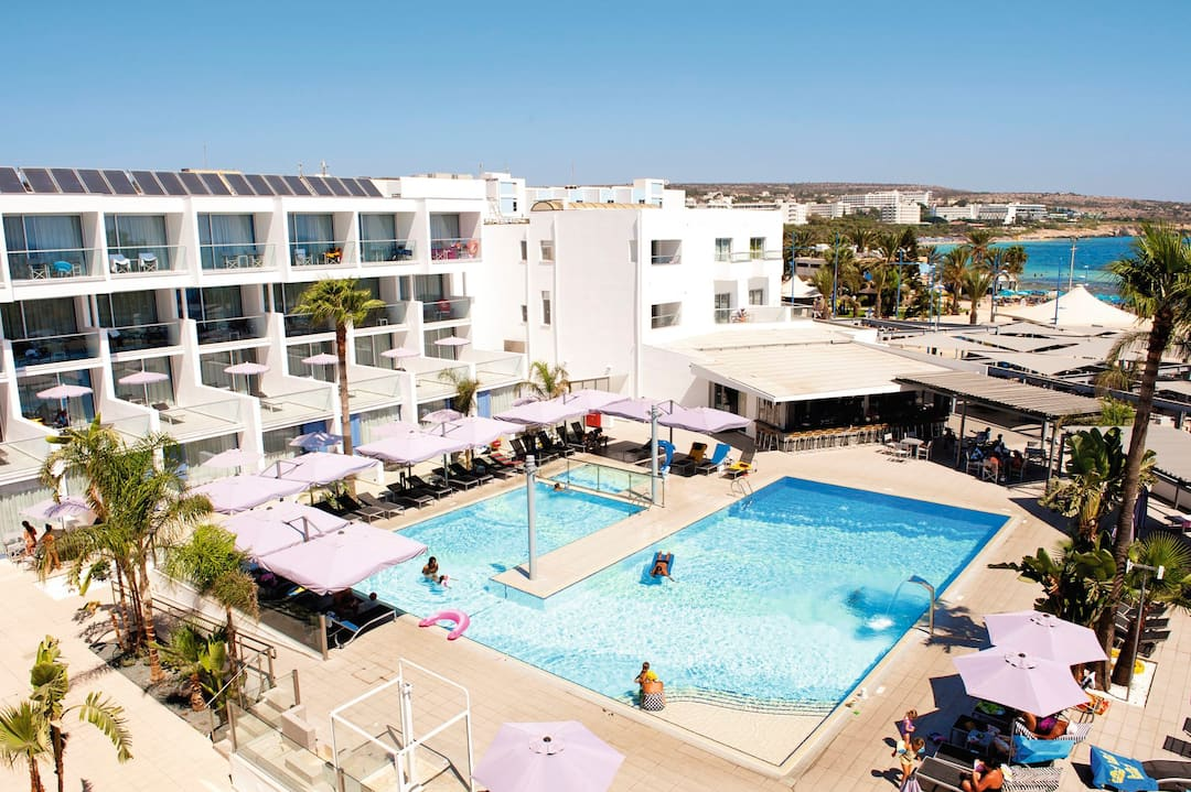 Holiday to Limanaki Beach Hotel in AYIA NAPA (CYPRUS) for 3 nights (BB) departing from birmingham on 10 May