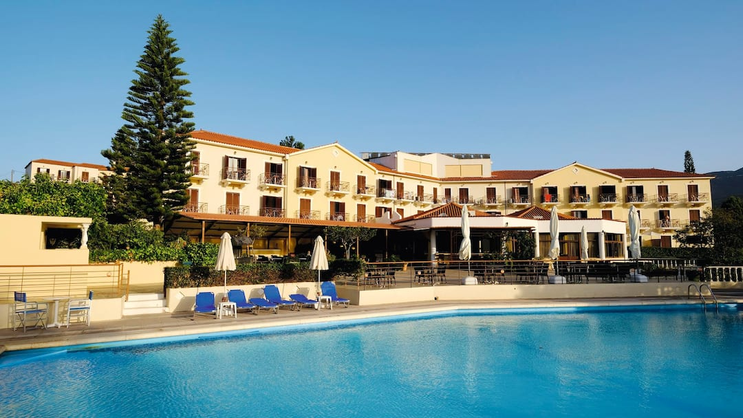 Holiday to Karavados Beach Hotel in KARAVADOS (GREECE) for 3 nights (SC) departing from gatwick on 09 May