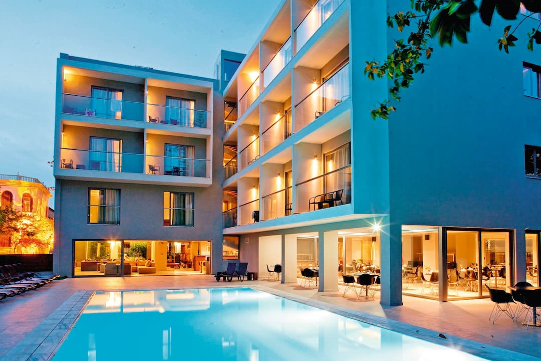 Holiday to Oktober Downtown Rooms in RHODES TOWN (GREECE) for 3 nights (BB) departing from stansted on 16 Oct