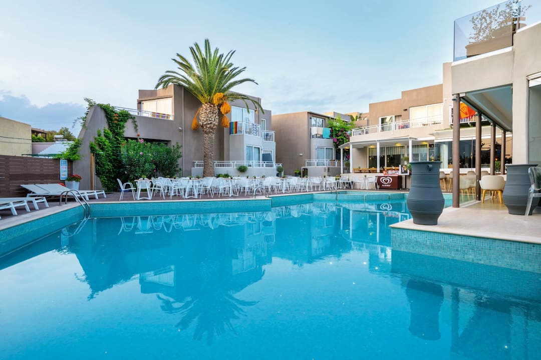 Holiday to Nefeli Hotel in RETHYMNON (GREECE) for 4 nights (HB) departing from birmingham on 03 May