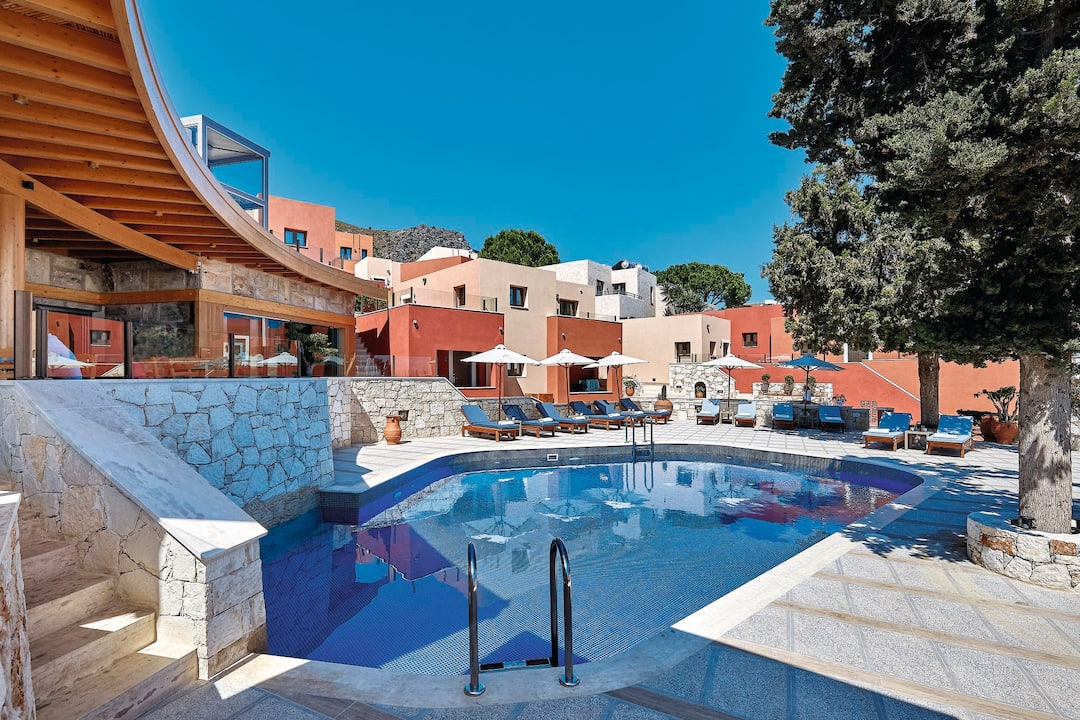 Holiday to Esperides Villas And Spa in KOUTOULOUFARI (GREECE) for 4 nights (BB) departing from birmingham on 03 May