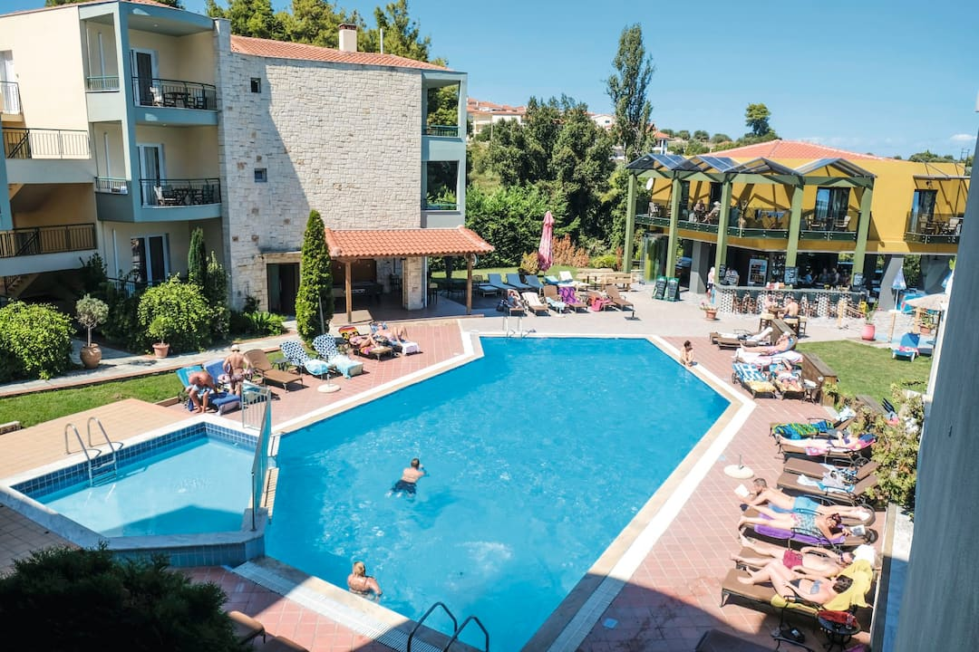 Holiday to Aegean Aparthotel in KRIOPIGI (GREECE) for 7 nights (HB) departing from birmingham on 14 May