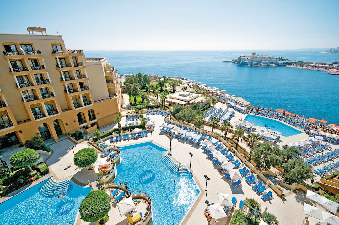 Holiday to St. George's Bay in ST JULIANS (MALTA) for 4 nights (BB) departing from gatwick on 03 May