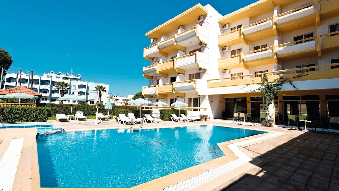 Holiday to Trianta Hotel Apartments in IALYSSOS (GREECE) for 3 nights (SC) departing from east midlands on 03 Jun
