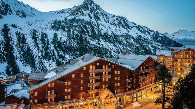 Chalet altitude apartments les arcs webcam