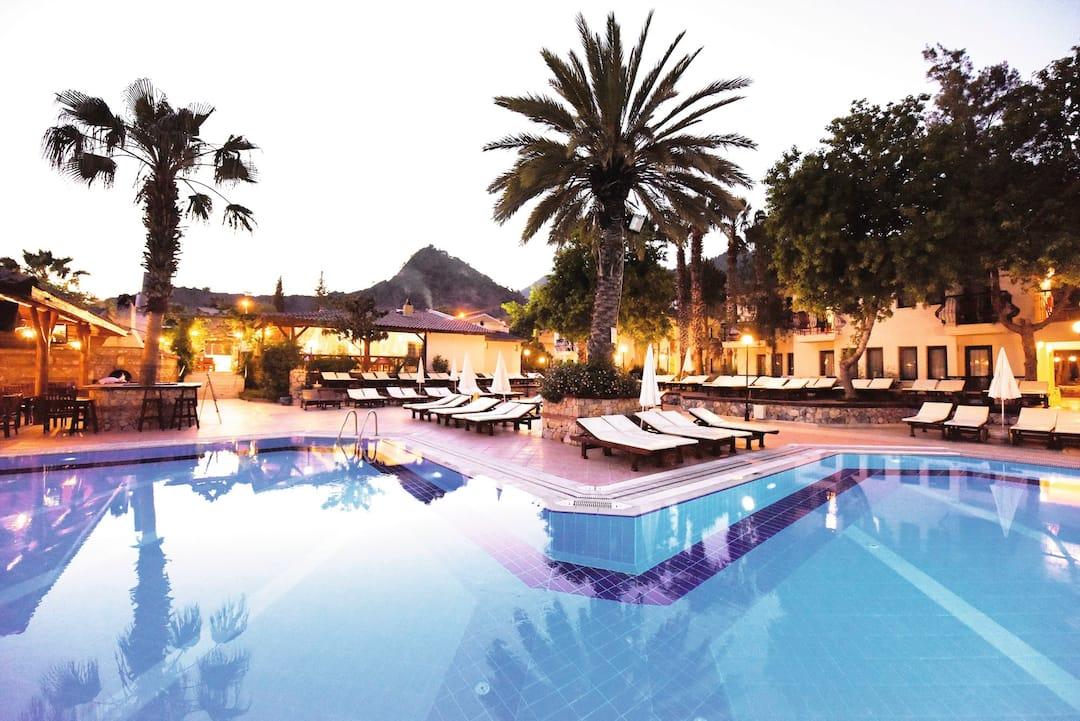 Holiday to Liberty Hotels Oludeniz in OLU DENIZ (TURKEY) for 7 nights (BB) departing from birmingham on 29 Apr
