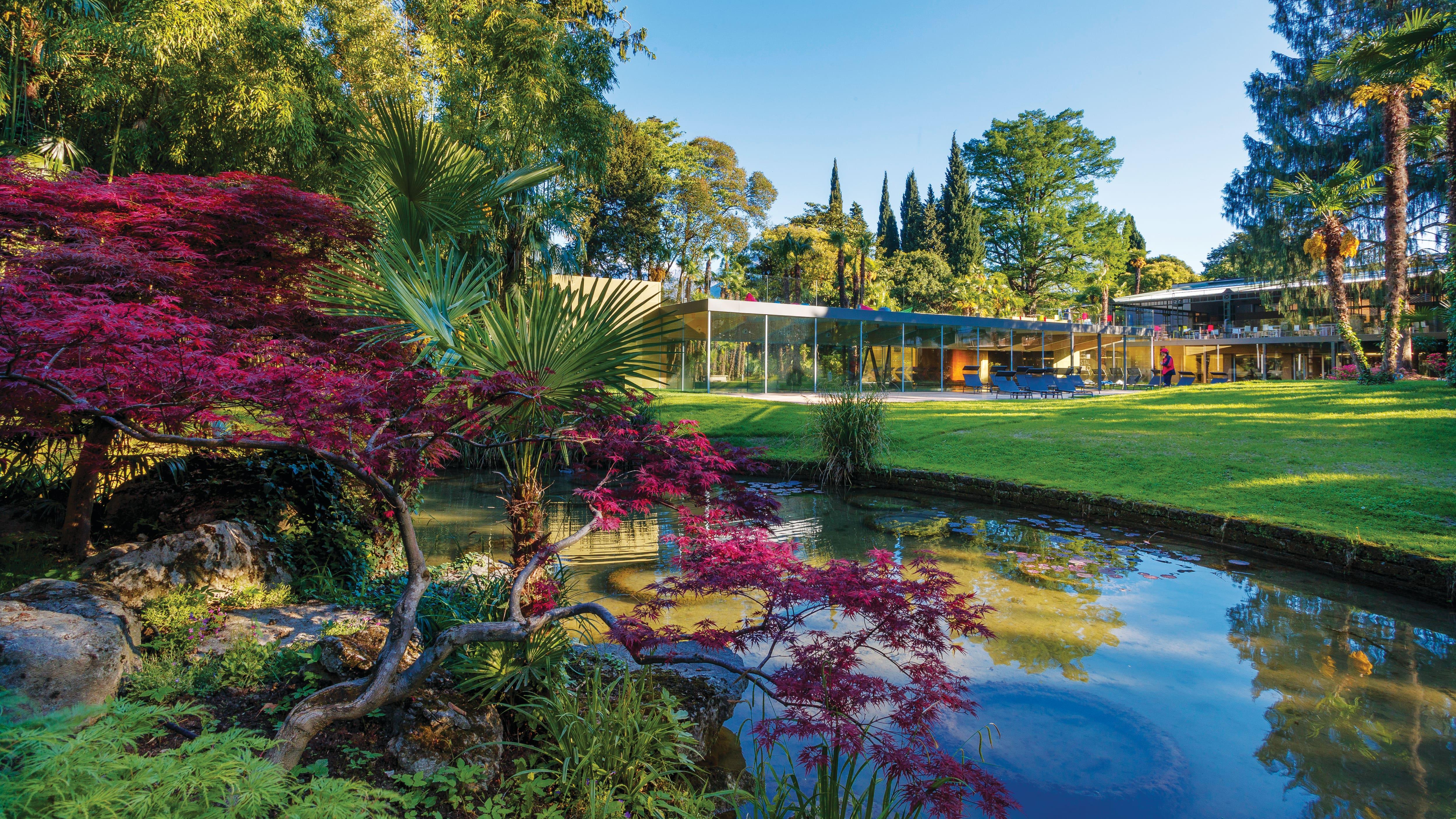 Gardens at the Du Lac et Du Parc