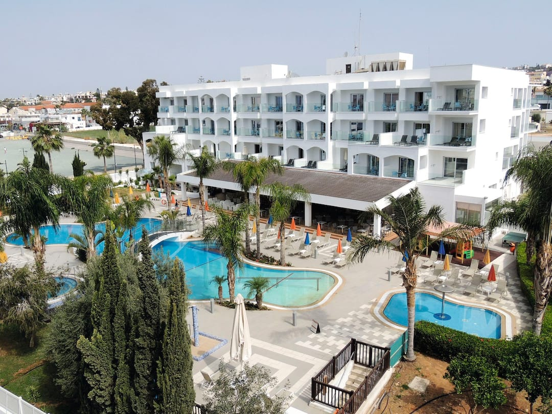 Holiday to Anesis Hotel in AYIA NAPA (CYPRUS) for 3 nights (BB) departing from newcastle on 09 May