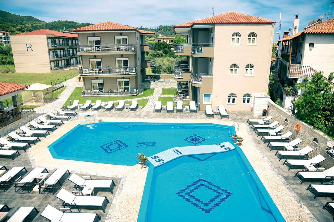 Holiday to Royal Hotel & Suites in POLICHRONO (GREECE) for 7 nights (BB) departing from luton on 26 Sep