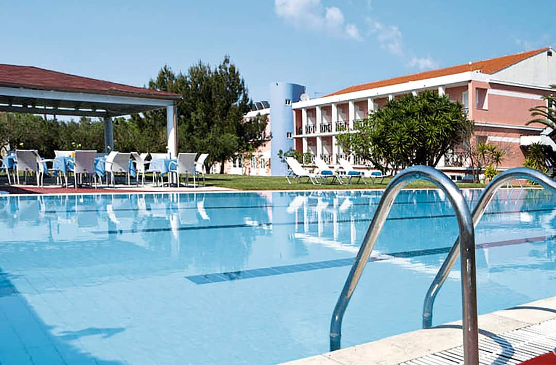 Holiday to Palatino Hotel in LIXOURI (GREECE) for 7 nights (BB) departing from birmingham on 01 Aug