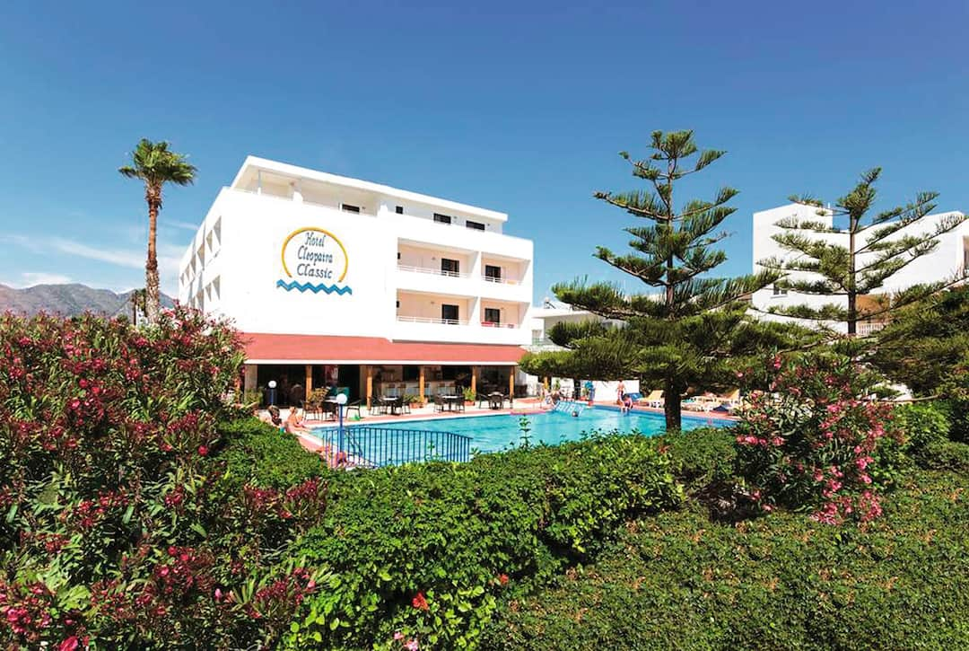 Holiday to Cleopatra Classic in KARDAMENA (GREECE) for 3 nights (BB) departing from gatwick on 06 Jun