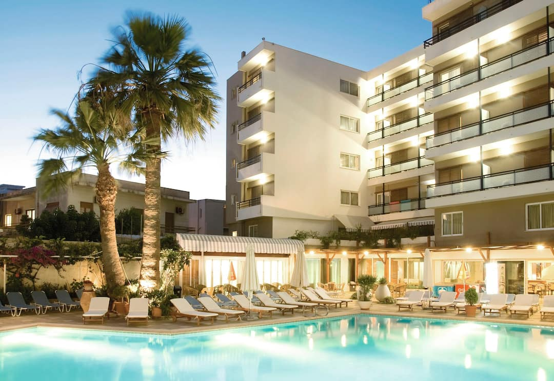 Holiday to Best Western Plaza Hotel in RHODES TOWN (GREECE) for 3 nights (HB) departing from stansted on 06 May
