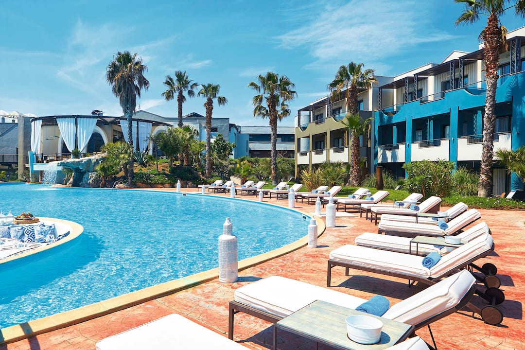 Holiday to Ilio Mare Hotels & Resorts in SKALA PRINOU (GREECE) for 3 nights (BB) departing from gatwick on 31 May